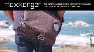 Mexxenger - high tech, modular messenger bag