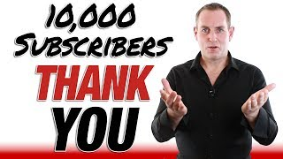 10000 Subscribers Thank You