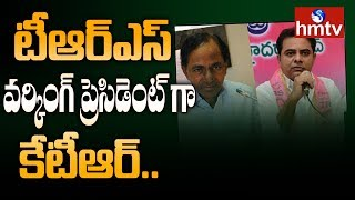 KCR Appoints KTR as TRS Working President | hmtv