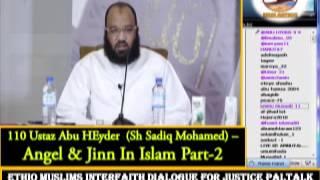 110 - Ustaz  Abu Heyder -  Angel & Jinn In Islam Part-2
