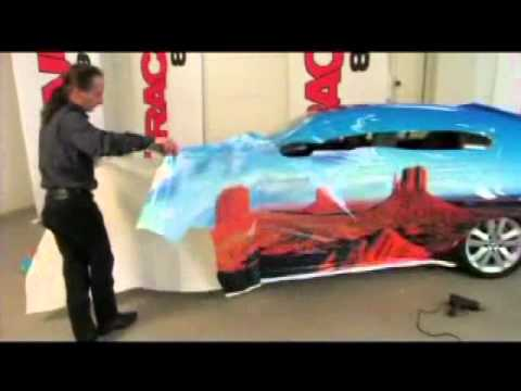 Auto Trim DESIGN Vehicle Wrap Film Application - Installation How-To