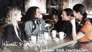 Internet & Streetstyle, A Fashion Week Converation/Garance Doré: Pardon My French
