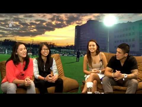 Fever Pitch - Pinay Futbol girls Kristine and NJ with Nate Burkey