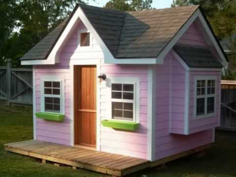 Children 39 s playhouses i 39 ve built youtube for Custom playhouse plans