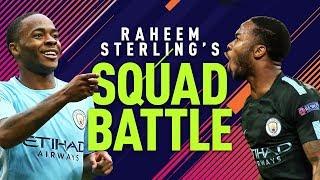 NEYMAR IS A BALLER! | Raheem Sterling Squad Battles | FIFA 18