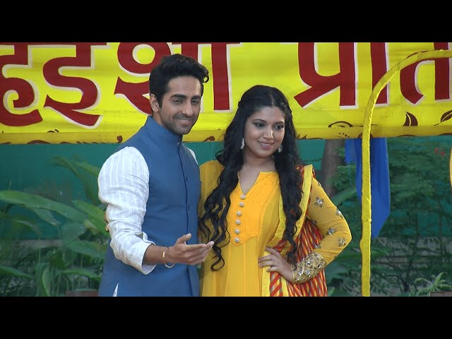 (Video) Dum Laga Ke Haisha Holi Celebration With Ayushmaan Khurrana | Uncut