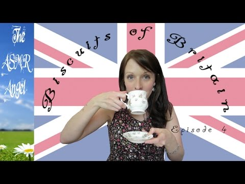 ASMR Biscuits of Britain - Tea Drinking and Biscuit Tasting EP4