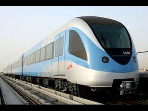 Dubai metro 2014