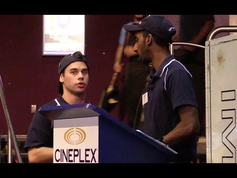Fake Movie Theatre Employee Prank!