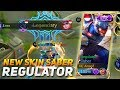 THE POWER OF NEW SKIN SABER REGULATOR AUTO MVP!!!! GG | MOBILE LEGEND INDONESIA MP3