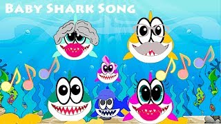 Baby Shark Song Mother Father Baby Brother Simple Songs for Children Family Tree Relatives