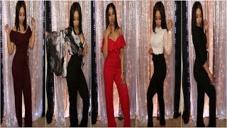 Hot Miami Styles Work Wear Fashion Haul & Try-On