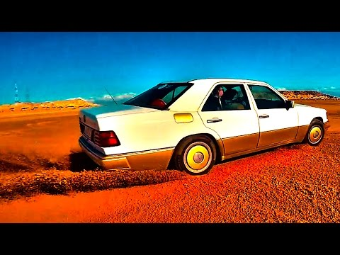 Выдержит ли старый Мерседес ДРИФТ и Сахару! Mercedes W124 и Рено Дастер. АФРИКА #3