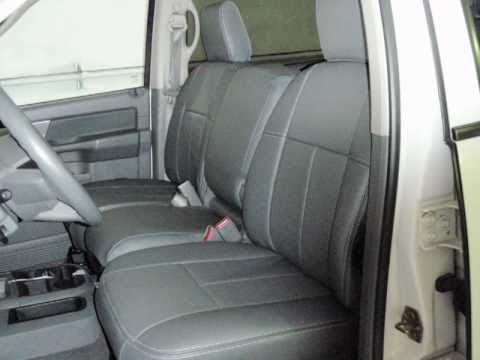 Clazzio Seat Cover Installation For Dodge RAM2500 3500