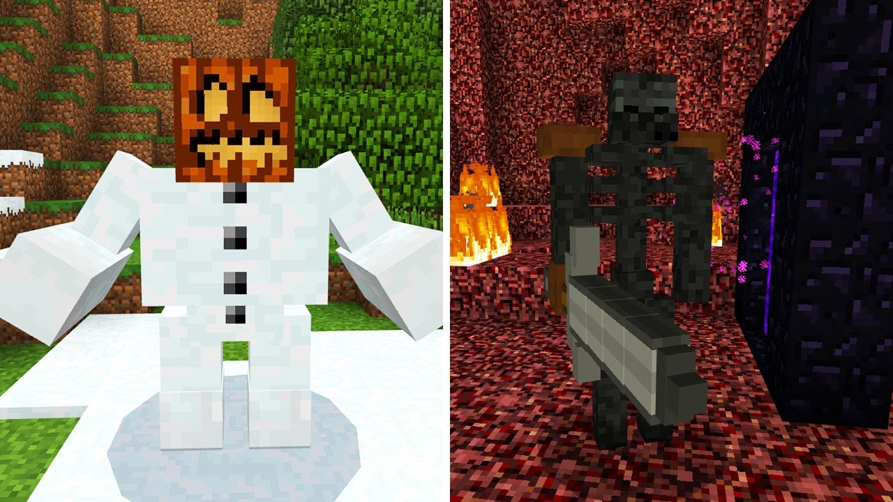 More Mutant Mobs in Minecraft Pocket Edition (Mutant Monsters Addon)