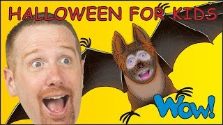 Halloween for Kids | Steve and Maggie Songs and Rhymes for Children from Wow English TV