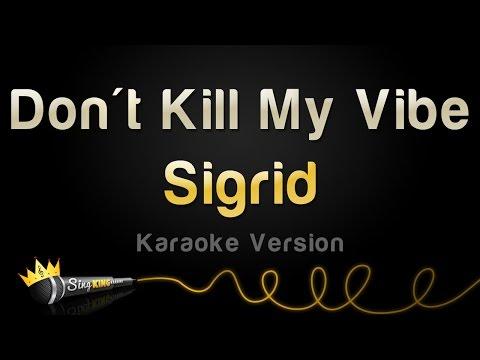 Sigrid - Don't Kill My Vibe (Karaoke Version)