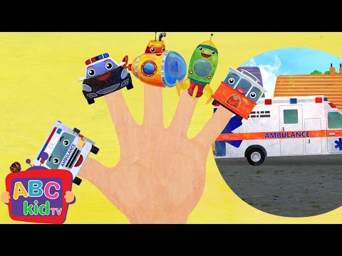 Finger Family - Vehicles 2 | Cocomelon (ABCkidTV) Nursery Rhymes & Kids Songs