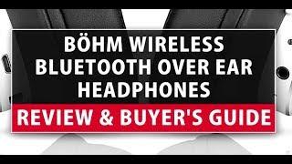 BÖHM Wireless Bluetooth Over Ear Headphones B66 Review & Buyer