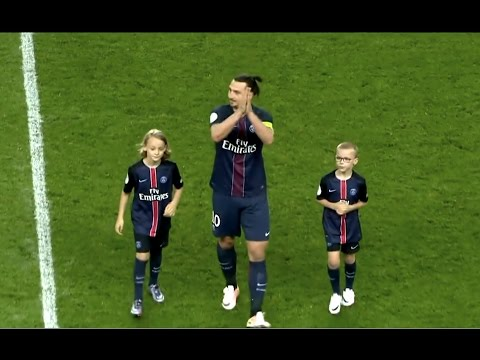 Zlatan Ibrahimovic - Goodbye PSG  #King #Legend