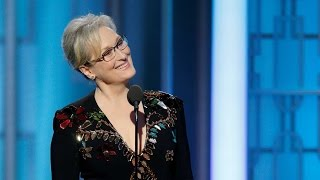 Golden Globes Awards | Meryl Streep mocks Donald Trump