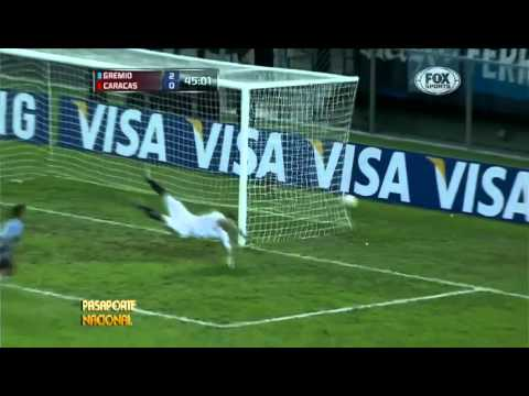 Eduardo Vargas Vs Caracas - Copa Libertadores [03-06-2013]