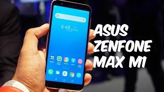ASUS ZenFone Max M1 ZB555KL Hands-on, Features, Camera