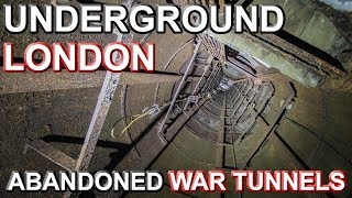 ABANDONED LONDON UNDERGROUND - Flooded War Tunnels with IKS Exploration