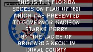 The flags of Florida