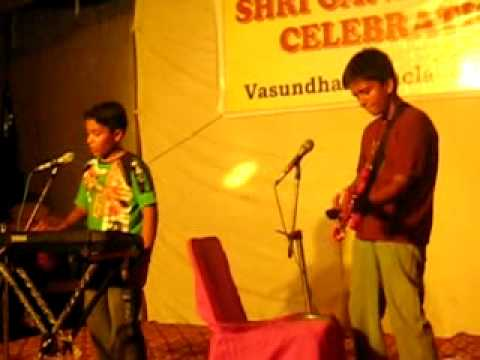 teri dewani -cover Anant and Dennis performing