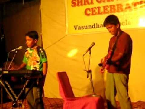 teri dewani -cover Anant and Dennis performing