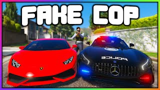 GTA 5 Roleplay - FAKE COP STEALS EXPENSIVE CARS | RedlineRP