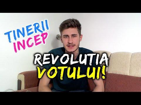 Tinerii încep REVOLUȚIA VOTULUI !