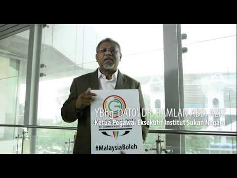 Ucapan YBhg Dato' KPE ISN Untuk Kontinjen Malaysia di Sukan Komanwel Glasgow2014
