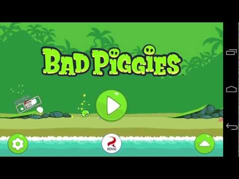 Bad Piggies Android App Review - CrazyMikesapps