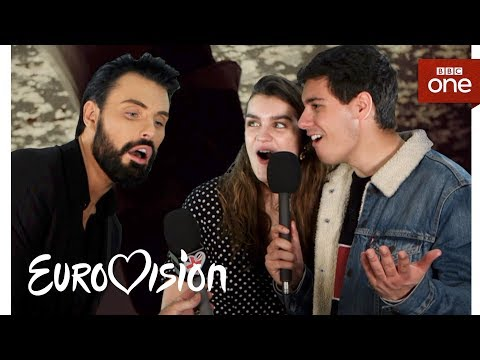 Meet the 2018 Eurovision artists with Rylan: Part One - Eurovision 2018 - BBC One