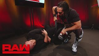 Seth Rollins takes out Baron Corbin with a steel chair: Raw, June 17, 2019