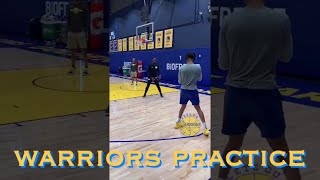 bts[9:16] 👀🗣 Steph, DLo & more sights & sounds from Warriors (1-1 pre) practice, 2 days b4 Lakers