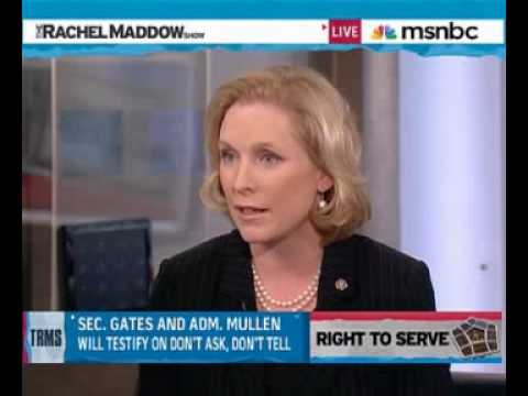 Sen Kirsten Gillibrand on Don't Ask, Don't Tell