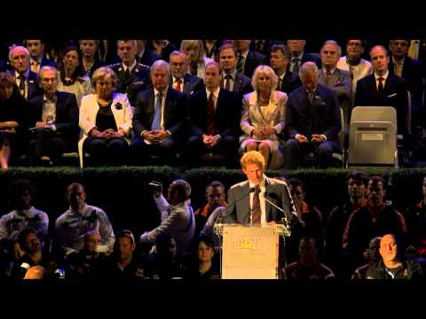 Prince Harry's speech at the opening ceremony of the Invictus Games