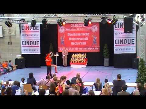 Magdalena Seidenschwarz & Anton Zinsmeister - Oberbayerische Meisterschaft 2012