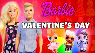 LOL Surprise Doll Valentine's Day Makeover! With The Spin The Wheel Game! | Barbie's Toy Vlog
