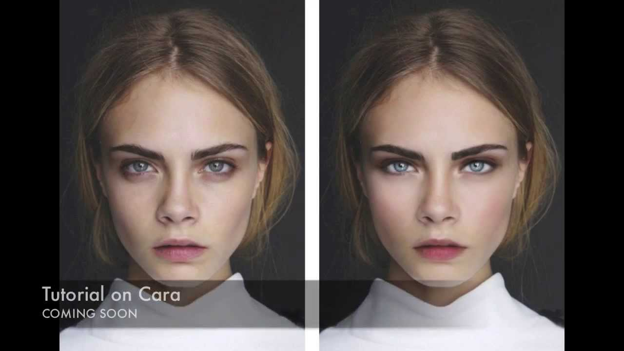 Models and Celebrities BEFORE AND AFTER Photoshop - YouTube
