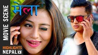 ६ जनाको टिकट काटेर राख्छु || Nepali Movie MELA Scene | Salon Basnet, Aashishma Nakarmi
