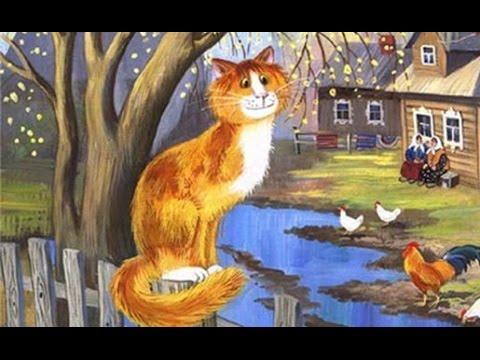 ♫ РЫЖИЙ КОТ МУРЛЫКА | Веселые детские песенки с субтитрами | Рыжий кот песня