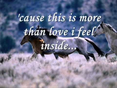 Said I Love You But I Lied ( Michael Bolton) Lyrics....wmv video