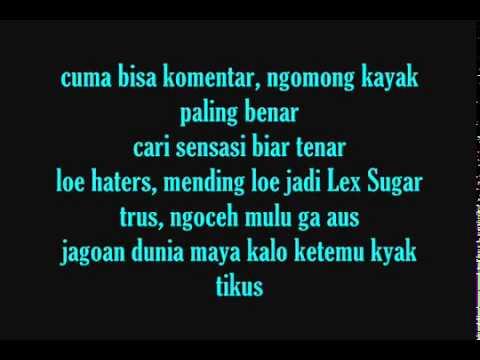 ECKO SHOW Feat Young lex - Bodo Amat ( With Lyrics )