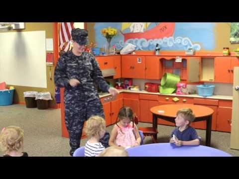 Navy mom surprises daughter (Okmulgee)