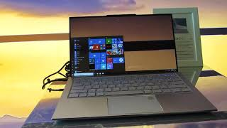 Asus ZenBook S13 thin and light laptop (CES 2019)