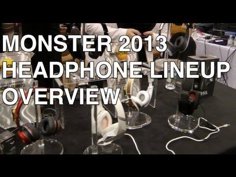 Monster Headphones Tour: Diamond Tears, Diesel VEKTR, DNA, MVP Carbon, and more!